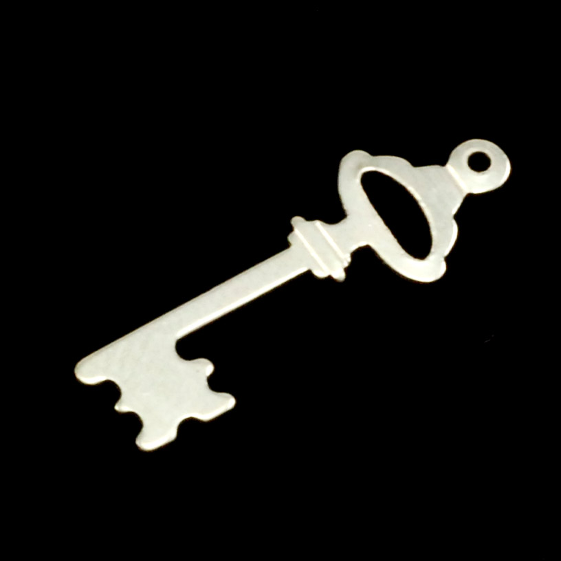 Sterling Silver Small Key, 24g