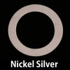 "Nickel Silver 1 1/4"" Washer, 7/8"" ID, 20g"