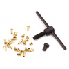 "3/32"" Eyelet Flaring Set, add-on for Riveting System"
