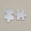 Aluminum Paired Puzzle Pieces, 18g