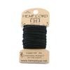 Hemp Cord- Mini Card Black