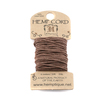 Hemp Cord- Mini Card Light Brown