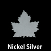 Nickel Silver Maple Leaf, 24g