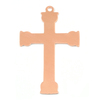 Copper Large Fancy Cross, 24g