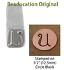 "Kismet Letter ""U"" 7mm - Beaducation Original"