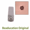 Daisy Flower Face 2.5mm Design Stamp - Beaducation Original