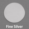 "Fine Silver 1"" (25mm) Circle, 20g"