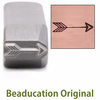 Large Classic Arrow Design Stamp- Beaducation Original