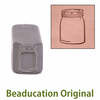 Mason Jar Design Stamp- Beaducation Original