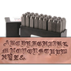 "Old English Uppercase Letter Stamp Set 15/64"" (6mm)"