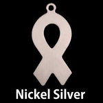 Nickel Awareness Ribbon Blank, 24g