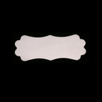 Sterling Silver Small Lanky Plaque, 24g