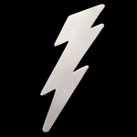 Sterling Silver Lightning Bolt, 24g