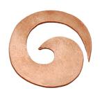 Copper Spiral Blank, 22g