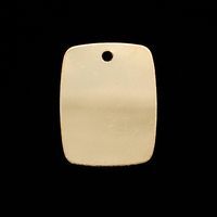 Gold Filled Large Rectangle with Hole, 24g