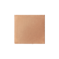 "Copper 3/4"" (18.5mm) Square, 24g"