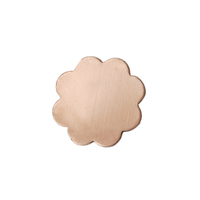 Copper Small 8 Petal Flower, 24g