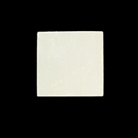 "Sterling Silver Square 7/8"" (22.2mm) , 24g"