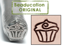 Cupcake Design Stamp-Beaducation Original