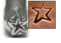 Asymmetric Star Design Stamp