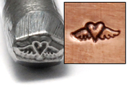 Heart with Wings Design Stamp