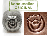 Little Boy Face Design Stamp- Beaducation Original