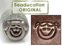 Little Girl Face Design Stamp- Beaducation Original