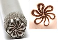 Pinwheel Design Stamp