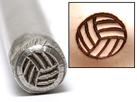 Volleyball Design Stamp