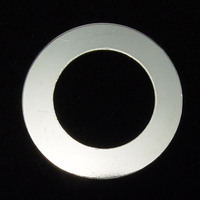 "Sterling Silver 1"" Washer, 5/8"" ID, 20g"
