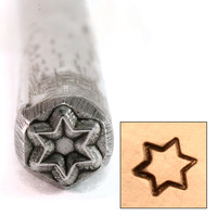 Six Pointed Star Design Stamp