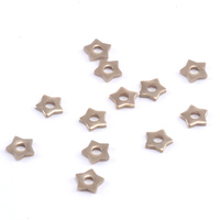 Star Nickel Silver Rivet Accents