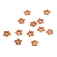 Copper Star Rivet Accents