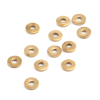 Plain Round Brass Rivet Accents