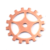 Copper Medium Spoked Cog, 24g