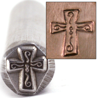Fancy Cross Design Stamp