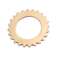 Brass Large Open Cog, 24g