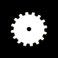 Sterling Silver Medium Solid Cog, 24g