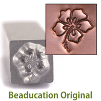 Hibiscus Flower Design Stamp-Beaducation Original