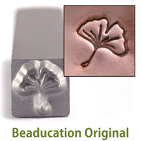 Ginkgo Leaf Design Stamp-Beaducation Original