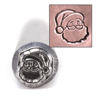 Santa Head Design Stamp