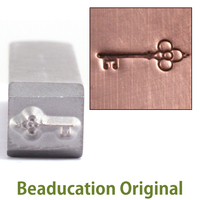Ornate Key Design Stamp-Beaducation Original