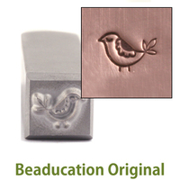 Partridge (4mm) Design Stamp-Beaducation Original