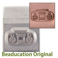 Boombox Design Stamp-Beaducation Original