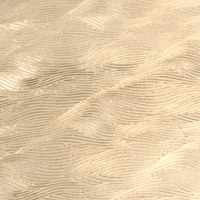 "Patterned Brass 22g Sheet Metal, Waves, 2.5"" x 6"""