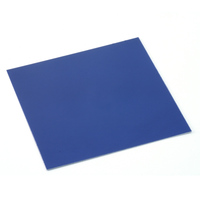 "Anodized Aluminum Sheet, 3"" X 3"", 24g, Blue"