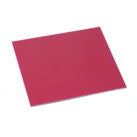 "Anodized Aluminum Sheet, 3"" X 3"", 24g, Rose"