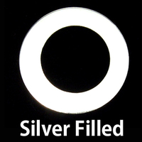 "Silver Filled 1"" Washer, 5/8"" ID, 24g"