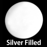 "Silver Filled Circle 1"" (25mm), 24g"