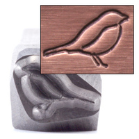 "Bird Design Stamp, 1/4"" (6.4mm)"